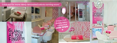 Dream Nails Beauty – In Salon Marketing/Promotions & Activit