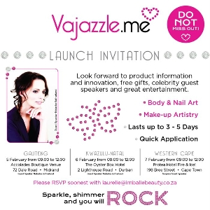 Vajazzle.me Launch in South Africa
